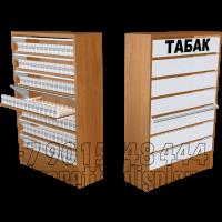 Шкаф для продажи сигарет на семь уровней по высоте с единовременным открыванием створок